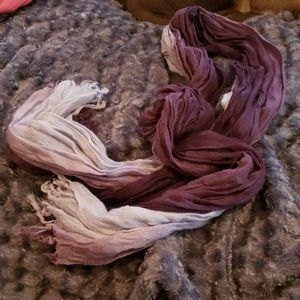 Purple oldnavy scarf